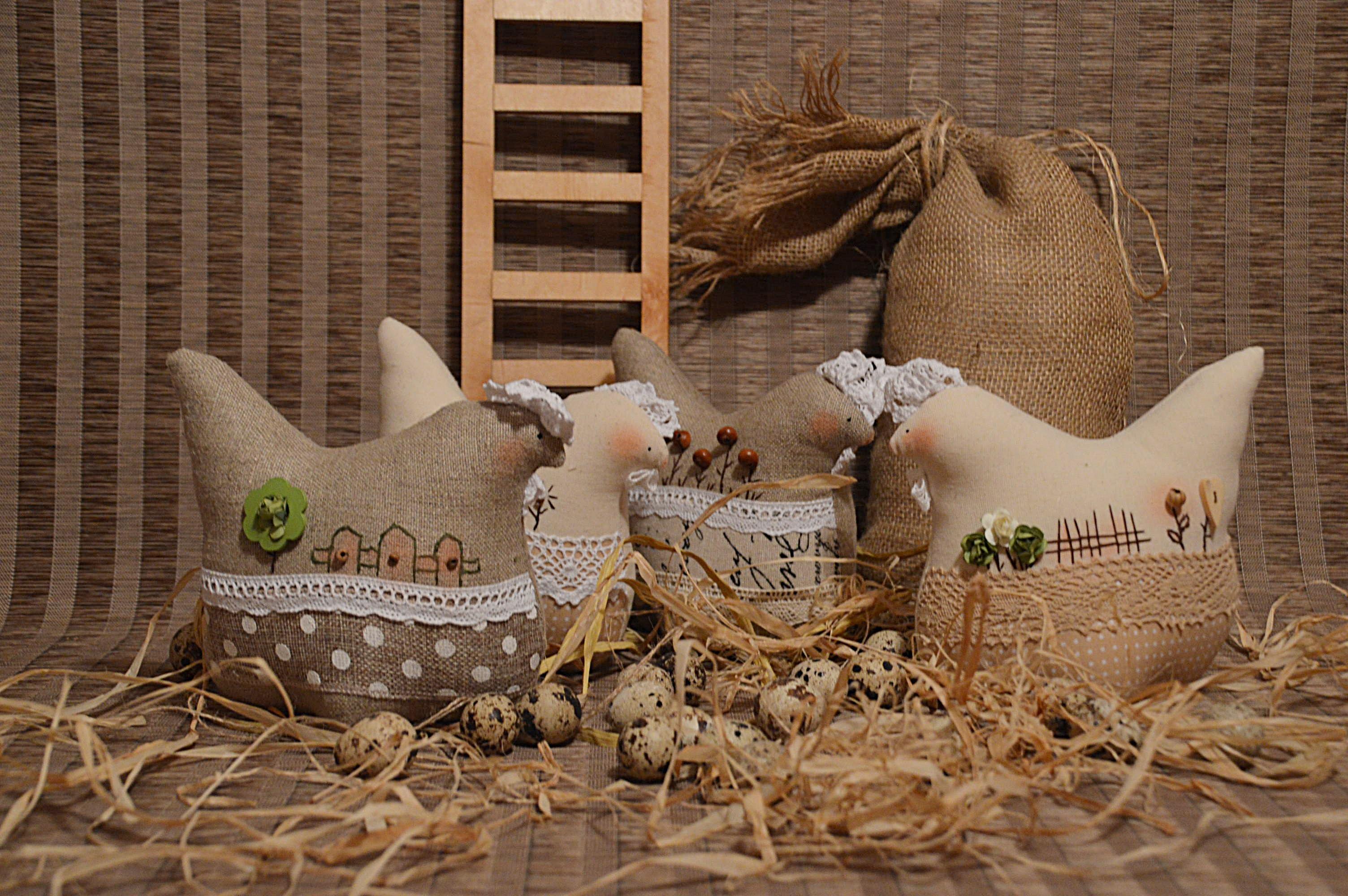 Szyte Ozdoby Wielkanocne Bominflot